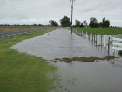 A big rain event in Nth Vic